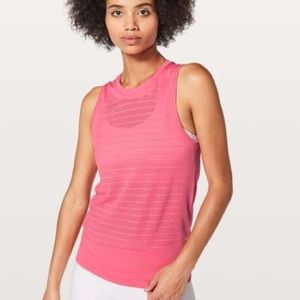 Lululemon Pink Breeze By Muscle Tank II